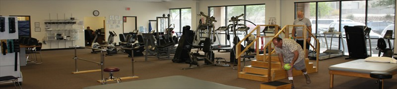 Paragon Physical Therapy and Rehab gym located in Bullhead City