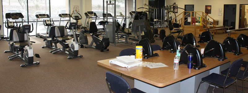 Paragon Physical Therapy and Rehab's physical therapy gym located in Bullhead City